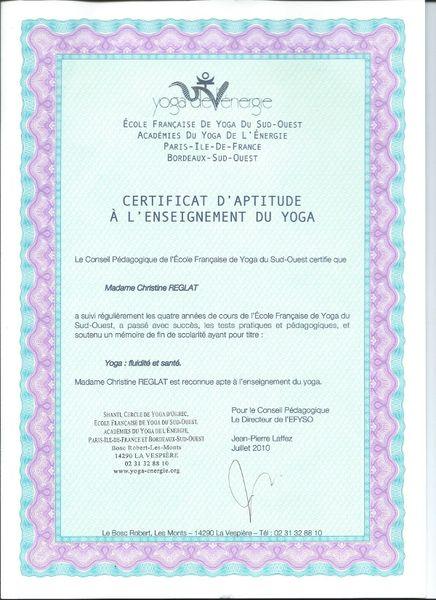 certificat-aptitude-enseignement-yoga-segur