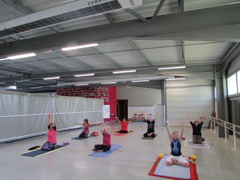 COurs de yoga dans l'entre 2 mers sauveterre et Monségur 1