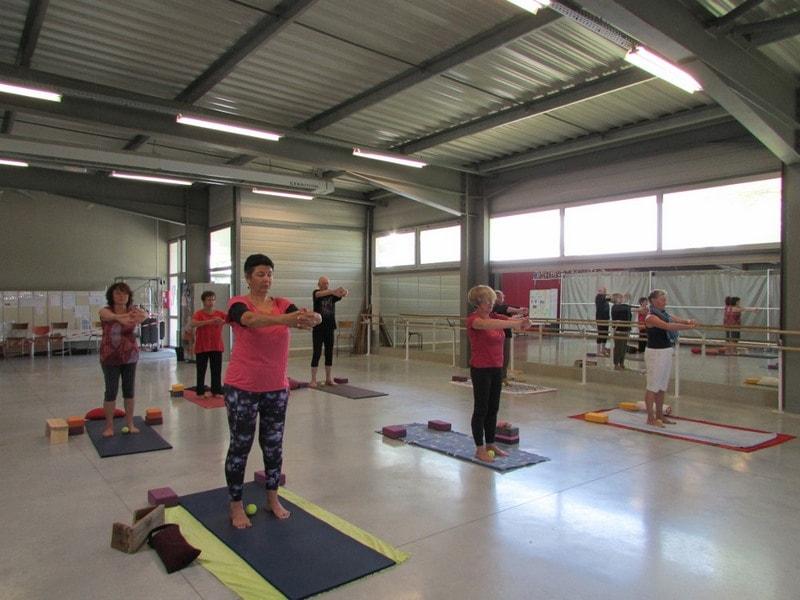 Cours de yoga dans l'entre 2 mers sauveterre et Monségur 11