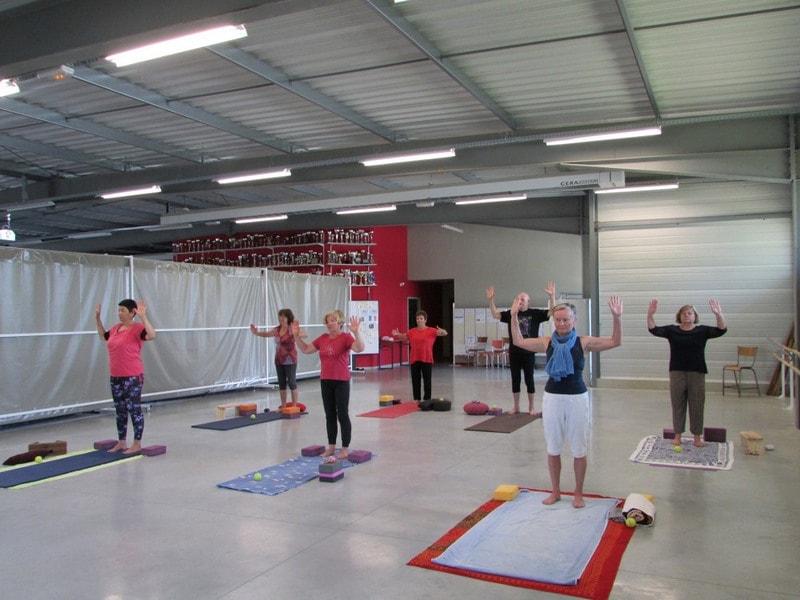 Cours de yoga dans l'entre 2 mers sauveterre et Monségur 13
