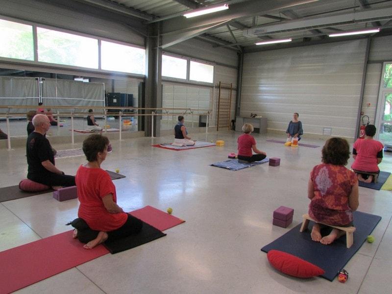 COurs de yoga dans l'entre 2 mers sauveterre et Monségur 6