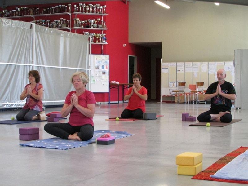 Cours de yoga dans l'entre 2 mers sauveterre et Monségur